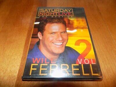 WILL FERRELL THE BEST OF SATURDAY NIGHT LIVE VOLUME 2 SNL Comedy Skits DVD