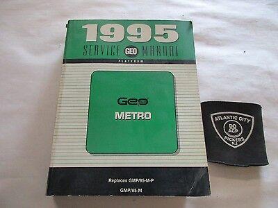 1995 Geo Metro Service Shop Repair Manual Factory Oem