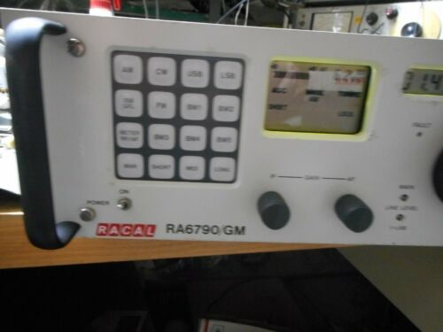 RACAL RA6790/GM-13 RECEIVER WITH A6A2 (F-RAM) Memory Adapter Board