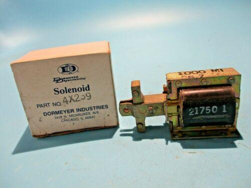 NEW DORMEYER 4X239 SOLENOID 120V COIL 1000M1