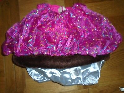 BNWT baby girl cupcake fancy dress up outfit/headband 12-24mths.         - Baby Girl Cupcake Kostüm