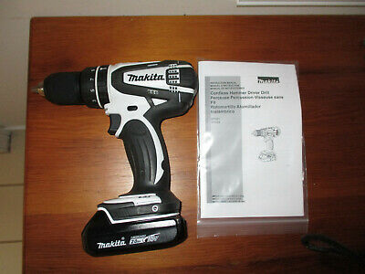 Makita Xph01 Lxt 18v Cordless 12 Hammer Driver-drill With Battery