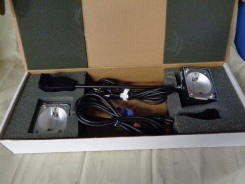 Nimlok Trade Show Display Lights 200w 120V Halogen R7 Nordic AB 9820 w/ oem box