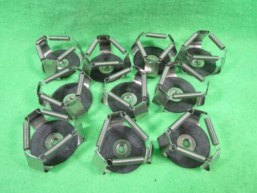 Lot of 10 New Brunswick 125mL Shaker Orbital Platform Clamps Holders