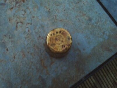 Antique / vintage brass pot - 5 cm high