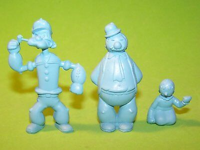 RARE! MARX 1950's 60MM POPEYE, SWEET PEA, AND WIMPY MINT CONDITION](Popeye And Sweet Pea)