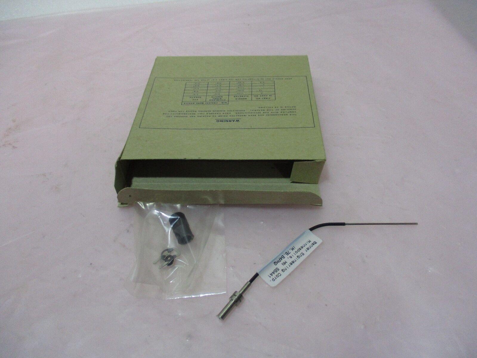 Banner IM.75.54PM2 Fiber End Assembly Sensor, 420402