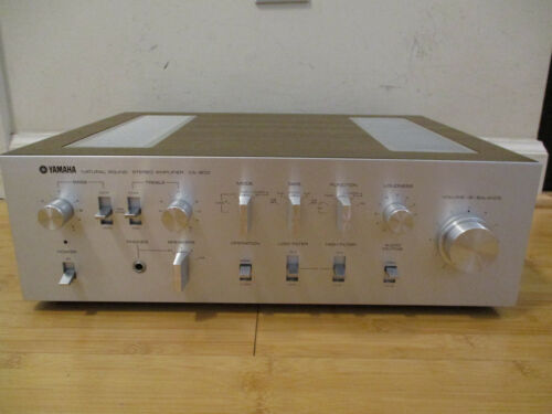 Yamaha CA-800 Vintage Stereo Integrated Amplifier Class A Tested PICK UP ONLY***