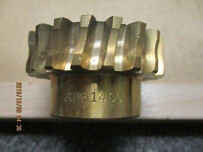 New Boston Db1400 Bronze Worm Gear 12 Pitch 20 Teeth 12 Plain Bore.