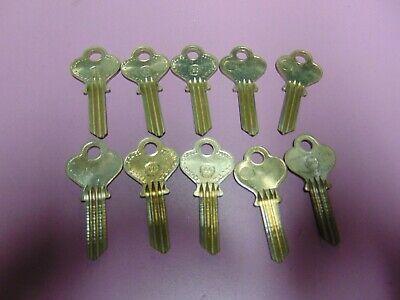 10 Keys  Eagle 1013 Keys Blanks Uncut  Locksmith