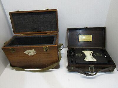 Old Vintage Weston Electric Instrument 56 Volt-millivoltmeter Tool