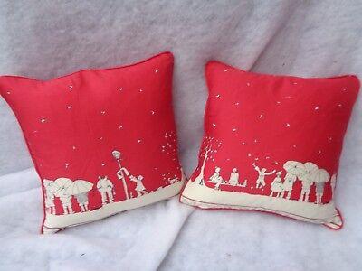 Winter Wonderland von Poppy 1 Paar 45.7cm Kissenbezüge - Doppelseitig/Verrohrt/ ()