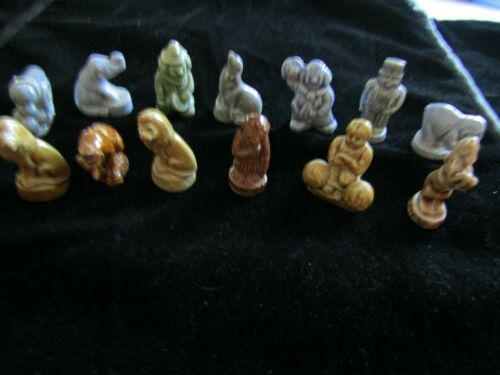 Vintage Wade Whimsies Assorted Circus Figures  Made In England Lot Of 13