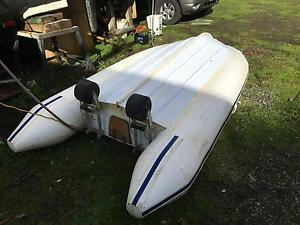 3m Dinghy and 5hp Mercury Outboard. Cannons Creek Casey Area Preview