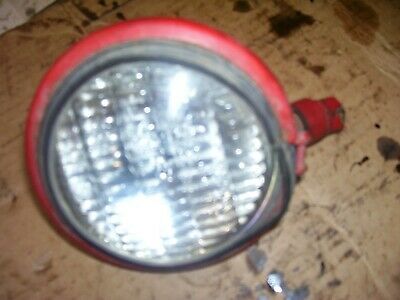 Vintage Farmall  Tractor -6 Volt - 4 Flat Back Light - Works - As - Is