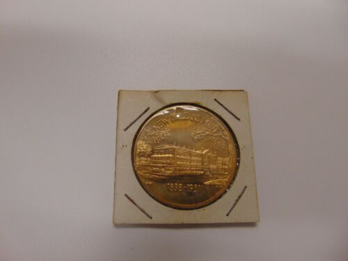 GENUINE OBSOLETE COIN TOKEN MEDAL VERY OLD NEW ORLEANS MINT 1838-1931 TREASURY