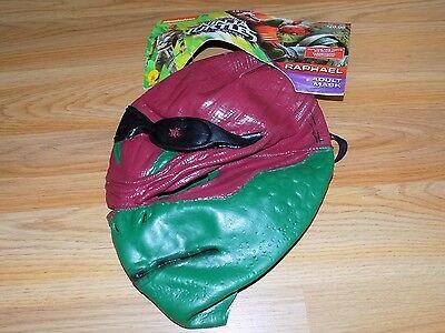 Adult One Size Teenage Mutant Ninja Turtle TMNT Raphael Halloween Costume Mask](Ninja Turtle Mask)