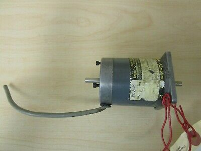 Parker Compumotor Double Shaft Motor Model Aax57-83 With Encoder