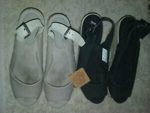 WOMENS SHOE PACKAGE X6 PAIRS SIZE 6 AND SIZE US 8 TIMBERLAND