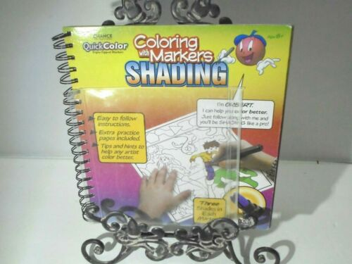 Coloring With Markers Shading Book Drawing Activity Book