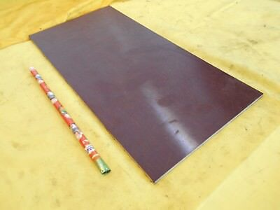 Brown Phenolic Flat Stock Machinable Micarta Sheet Bar Plate 18 X 6 X 12