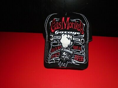 Official Gas Monkey Garage Blood Sweat & Beers Adjustable Size Baseball Hat NWT - Monkey Baseball