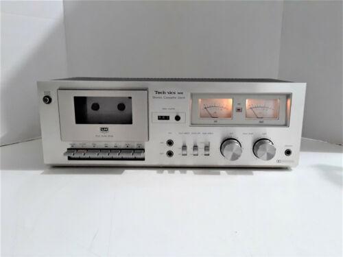 Vintage TECHNICS RS-M6 Stereo Cassette Deck - working