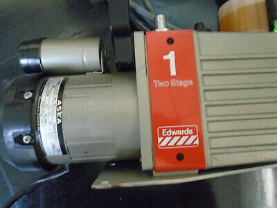 Edwards 1 E2m-1 Two Stage High Vacuum Pump