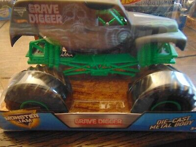 35th ANNIVERSARY GRAVE DIGGER Hot Wheels Monster Jam Truck 1:24th scale Big One