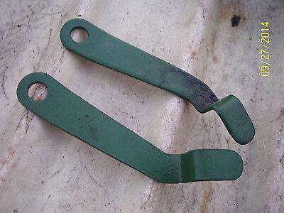 Vintage Oliver 60 Row Crop Tractor -brake Lock Set - Rh Lh