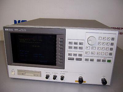 8467 Hp 4352a Vcopll Signal Analyzer 10mhz - 3ghz