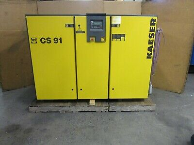2000 Yr Kaeser Cs 91 75 Hp Rotary Screw Air Compressor 460v 3ph 110psi 360cfm
