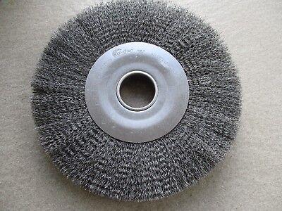 Weiler 12 Diameter X 2 Crimped Cleaning Wire Wheel Steel Brush 93427