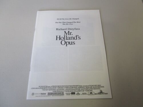MOVIE PRESS KIT MR. HOLLAND