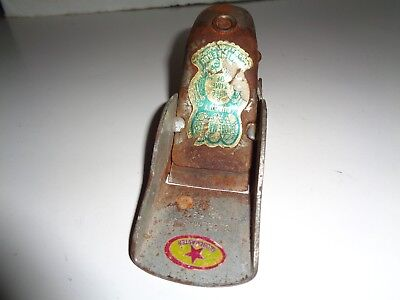 """Vintage Globe Master # 5942 Hand Plane, Wood Working 6"""" Long Good  Condition"""