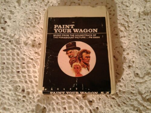 Vintage 1969 8 Track Paint Your Wagon Clint Eastwood Lee Marvin