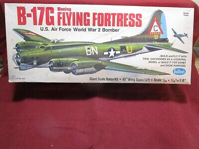 GUILLOW's B-17G Flying Fortress 2002 Powered Balsa Flying Model