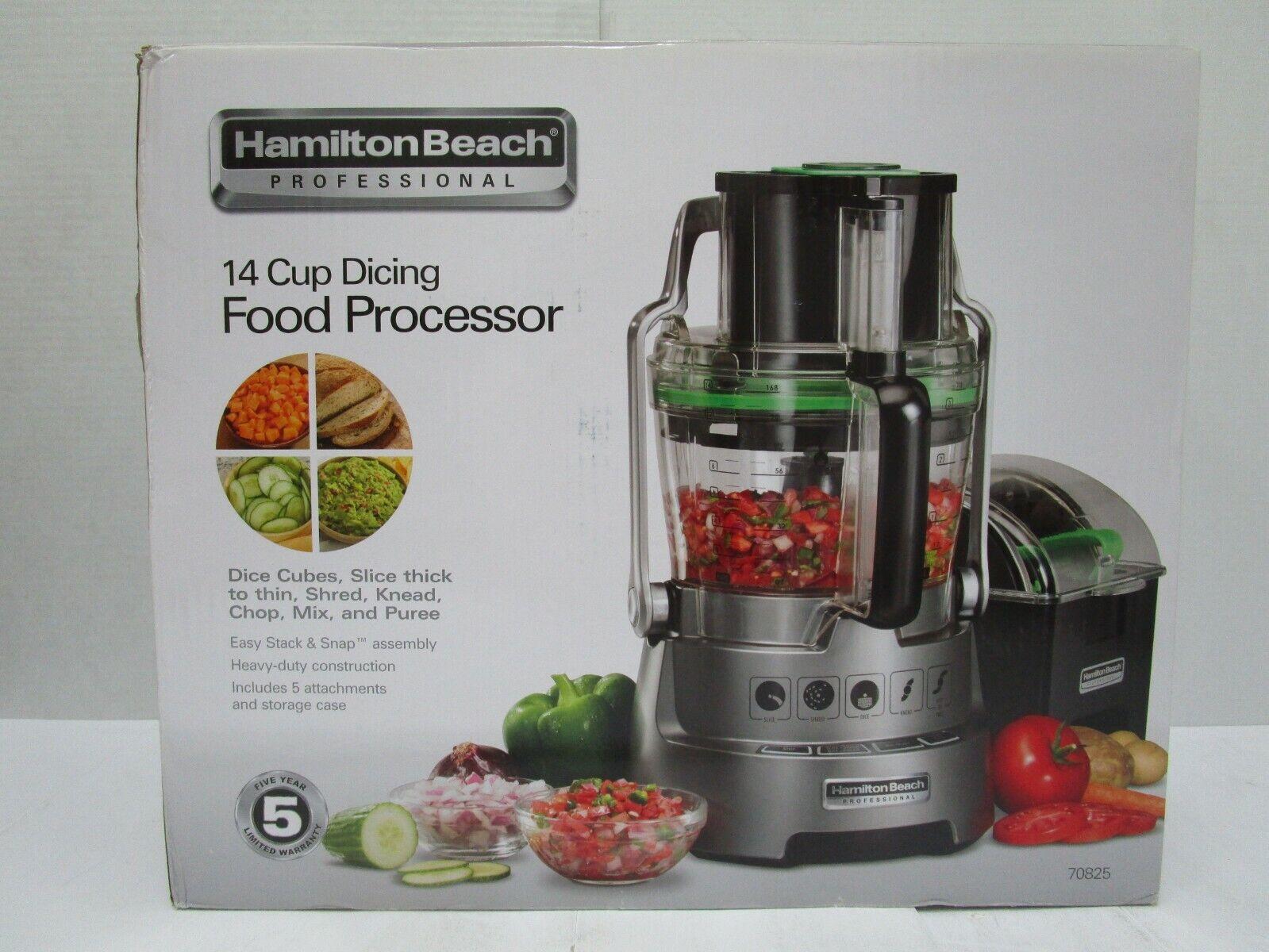Hamilton Beach - Professional 2-speed Food Processor - Gray