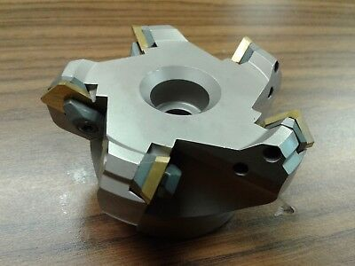 3 45 Degree Indexable Face Shell Millface Milling Cutter W.sean42aftn--new
