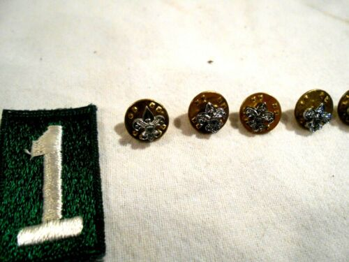 5-Vintage Boy Scouts of America (BSA) Pins