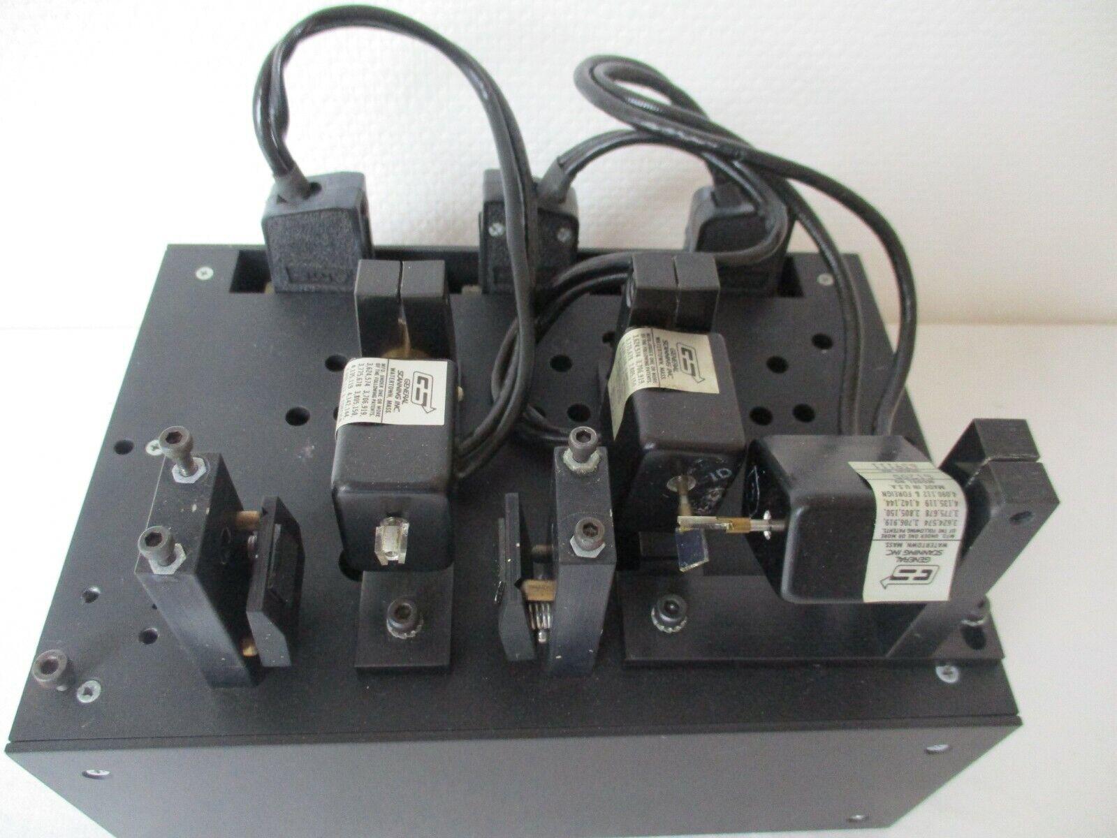 Galvanometer Laserscanner mit G120D und Treiber von Laseranimation Sollinger