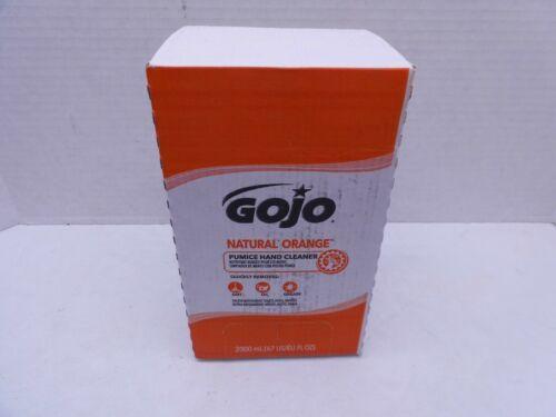 GOJO® NATURAL ORANGE Pumice Hand Cleaner Refill, Citrus Scent,2000mL