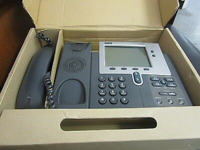 Cisco Model 7940 Series Ip Phone. Pn 68-1735-11. Gently Use Good Stock