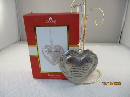 2008 Dayspring Christmas Ornament REMEMBRANCE