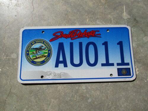 South Dakota Seal  license plate  #  AU011