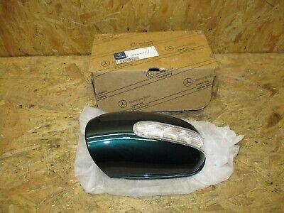 Mercedes Benz ML W163 Gehäuse Außenspiegel 1638100179 NEU Andtadite Green