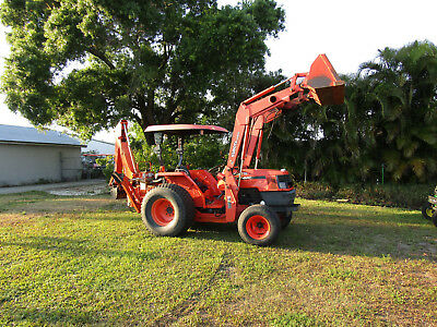 Kubota Mx5000e Loader Backhoe - 951 Original Hrs. Turf Tires