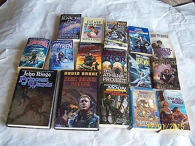 Lot 16 different Science Fiction Best Selling Authors, NY Times Best