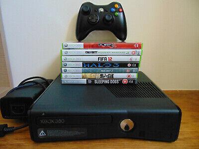 Xbox 360 S Slim, 7 Games, Console Bundles.