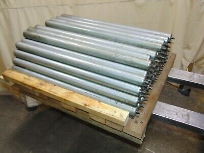 Lot Of 53 Replacement Gravity Roller Conveyors Rollers 31